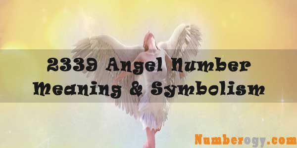 2339 Angel Number : Meaning & Symbolism