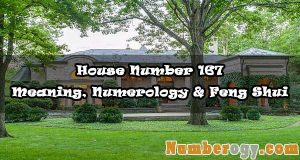 House Number 167 - Meaning, Numerology & Feng Shui