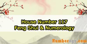 House Number 117 - Feng Shui & Numerology